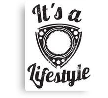 It's a lifestyle Canvas Print