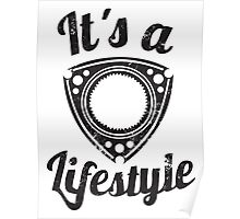 It's a lifestyle Poster