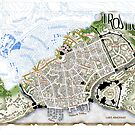 Trostig - Deconstructed Town Plan by S. Ross