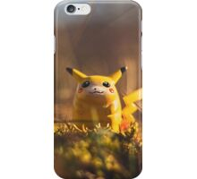 Fat Pikachu going places - Grass... iPhone Case/Skin