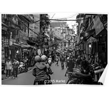 Mayhem in Hanoi? Poster
