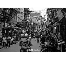 Mayhem in Hanoi? Photographic Print