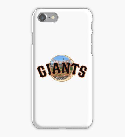 San Francisco Giants Stadium Logo iPhone Case/Skin