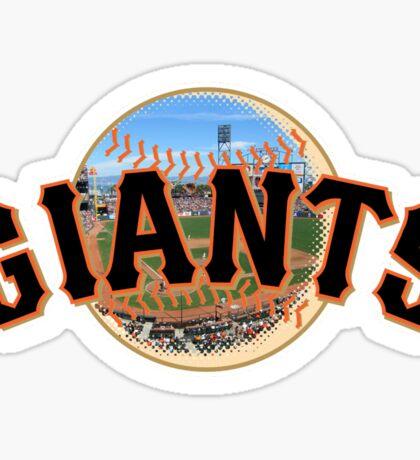 San Francisco Giants Stadium Logo Sticker