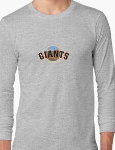 San Francisco Giants Stadium Logo Long Sleeve T-Shirt