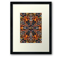 The Motorcycle Framed Print