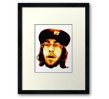 OG Ozzy Face Framed Print