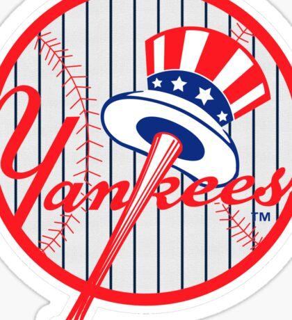 New York Yankees Pinstripes Logo Sticker