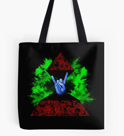 Psychedelic Rock Tote Bag