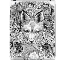 Hidden fox  iPad Case/Skin