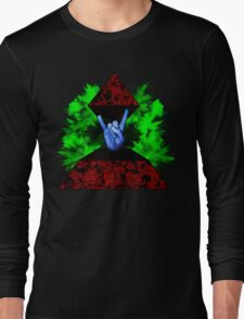 Psychedelic Rock Long Sleeve T-Shirt