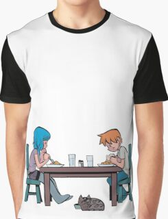 Meal Time Graphic T-Shirt