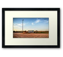 broome fish and chips Framed Print