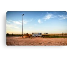 broome fish and chips Canvas Print