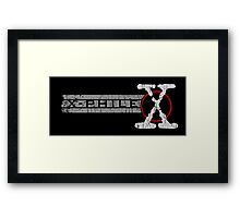 X-Phile Framed Print