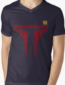 Boba Fett Mens V-Neck T-Shirt