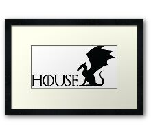 Game of Thrones - Targaryen Framed Print