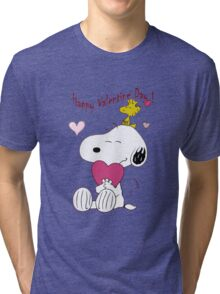Snoopy Valentine Day Tri-blend T-Shirt