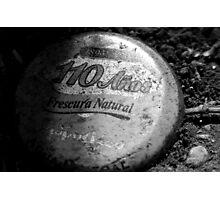 MINERAL WATER CAP Photographic Print