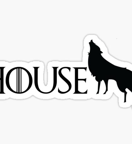 Game of Thrones - Stark Sticker