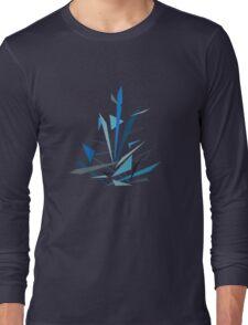 Sapphire Starburst Long Sleeve T-Shirt