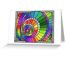 Colorful Pattern 1 Greeting Card