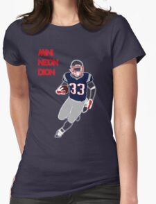 Neon Dion Lewis Womens Fitted T-Shirt