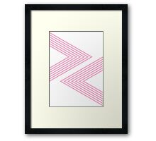 Rock, Paper, Scissors - Musk Framed Print