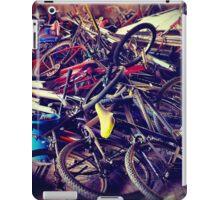 broken bicycles iPad Case/Skin