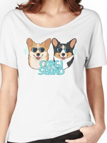 CORGI SQUAD - (The Doctor and the Queen) Women's Relaxed Fit T-Shirt
