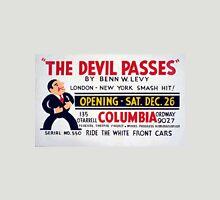 """Vintage """"The Devil Passes"""" Theater Unisex T-Shirt"""