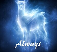 Always Harry Potter Doe Quote by artgoodies