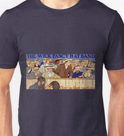 Vintage Advertisement Wick Fancy Hat Bands Unisex T-Shirt