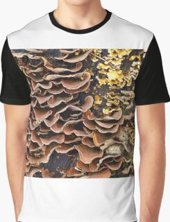Fungus Collage  Graphic T-Shirt