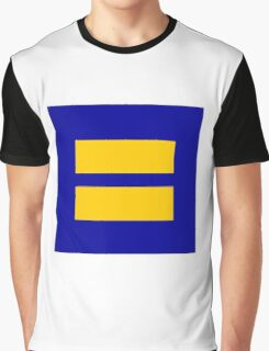 Equality Symbol Graphic T-Shirt