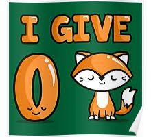 Zero Fox Poster