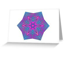 Colorful Pattern 3C Greeting Card