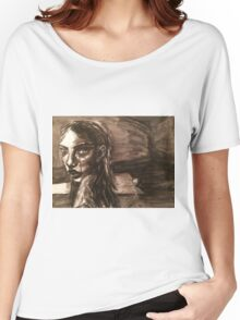 Girl With Broken Chain Women's Relaxed Fit T-Shirt