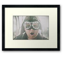 Travel adventure in imagination Framed Print