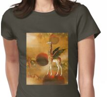 On Top of the World Womens Fitted T-Shirt