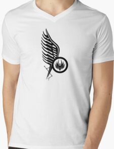 Starbucks Tattoo BSG Mens V-Neck T-Shirt
