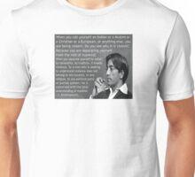 J. Krishnamurti Quote on Violence Unisex T-Shirt