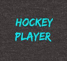 Hockey player. Unisex T-Shirt