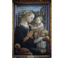Madonna and child Filippo Lippi 1406 69 Uffizi Museum Florence Italy 19840713 0014 Photographic Print