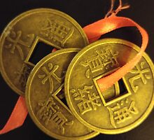 Lucky I-Ching Coins by Renee-LalaLeFay