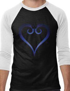 Kingdom Hearts Logo (Gradient) Men's Baseball ¾ T-Shirt