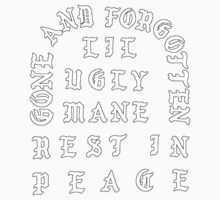 LIL UGLY MANE - REST IN PEACE Baby Tee