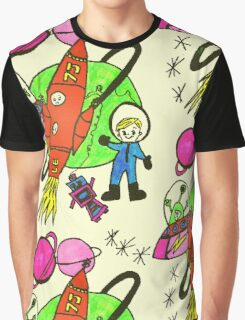 Space Boy  by Lollypop Arts Graphic T-Shirt