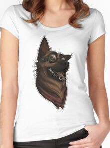 Dogmeat Graphic Women's Fitted Scoop T-Shirt