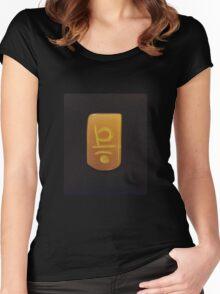 Sakral Reiki Symbol Women's Fitted Scoop T-Shirt